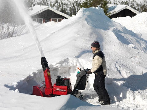 Keep Your Aging Parents Safe this Winter with a Snow Blower Picture
