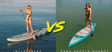 Inflatable or Hard Paddle Board - Which to Choose Picture